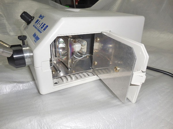 High Intensity Illuminator. Model: Fiber Lite MI-150